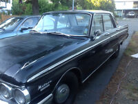 Classic 1963 Mercury Meteor.  Must sell, Moving