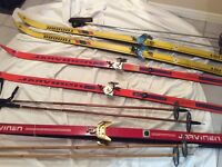 **3 CROSS COUNTRY SKI SETS** MUST GO!!!