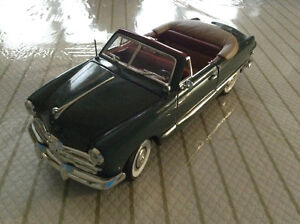 FOR SALE:  1949 FORD CUSTOM CONVERTIBLE - 1:18 scale DIECAST