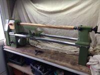 Poolewood Woodwise PW 16/40 woodturning wood lathe 3/4hp