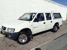 2002 Holden Rodeo LX Crew Cab LPG/PETROL AUTO CANOPY UTE Kirrawee Sutherland Area Preview