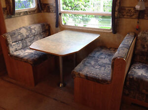 Prince George, BC - RV Dining couches and table set