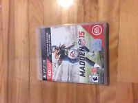 Madden 15 used but works like new