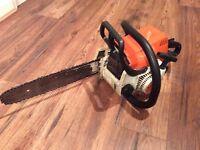 Stihl MS180 chainsaw saw