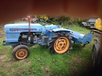 Hinimoto compact tractor