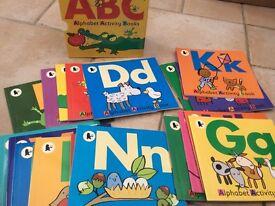 ABC Alphabet Activity Books
