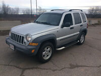 2005 Jeep Liberty Trail edition SUV, 4x4 ,lic/ inspected $4500.0