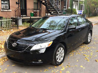 2009 Toyota Camry XLE + winter tires