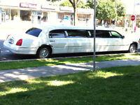 Service de limousine pour mariage