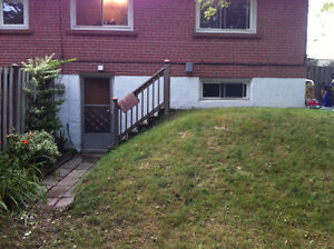Bachelor apartment in Whitby for Oct 1