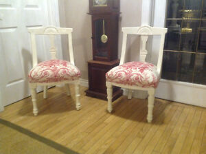 Set of Antique French Country chairs