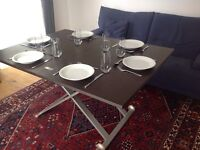 Convertible coffee/dining table