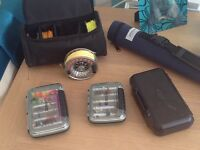 !!BARGAIN!! Fly fishing job lot 3 months old!!