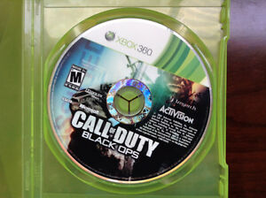 CALL OF DUTY BLACK OPS for XBOX 360 in Excellent Condition
