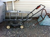 Electric lawnmover
