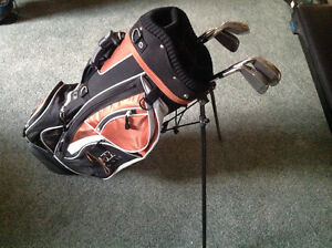 Like new.. JAZZ GOLF... CARRY BAG... With Stand