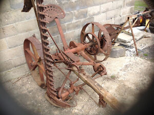 2 horse power  cycle mower