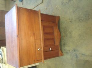 GREAT FOR STORAGE.    SOILD WOODEN DRY KITCHEN,