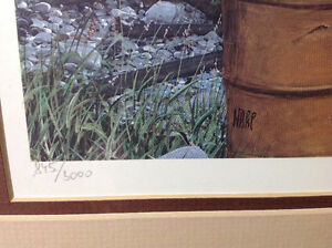 Numbered/signed Hebert Pikl print Cambridge Kitchener Area image 3