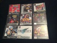 Original PlayStation Games for sale