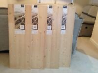 Brand new wood boards