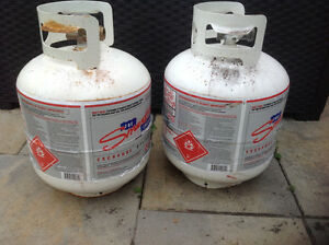 Propane Tanks - exchange program- Great condition!