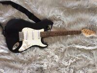 CBSKY Electric guitar black