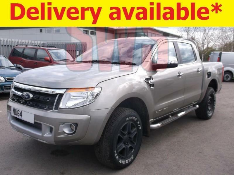 Ford Ranger Salvage Repairable: 2014 Ford Ranger Limited 4x4 TDCi 2.2 DAMAGED REPAIRABLE