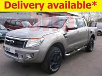 2014 Ford Ranger Limited 4x4 TDCi 2.2 DAMAGED REPAIRABLE SALVAGE