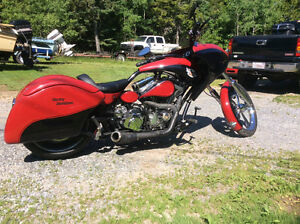 2013 Softail Pro Street Bagger custom redneck Show/ride trade???