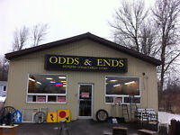 THE ODDS & ENDS ANTIQUE STORE IS OPEN!!