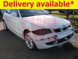 2011 BMW 116i Sport 2.0 DAMAGED REPAIRABLE SALVAGE