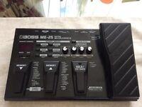 Boss ME25 guitar effects pedal