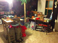 MOVING SALE, Sporting goods, Entertaining, Gifts, LOTS!