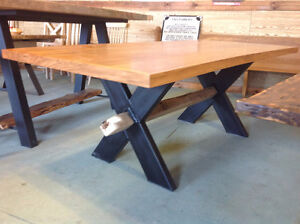Butternut Wood Table On SALE  Tax Included