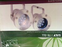 LED garden spotlights