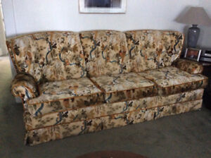 Divan et Fauteuil / Couch and matching swivel rocker