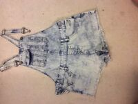 New Look Dungarees Size 8