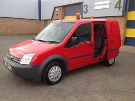 Ford Transit Connect 1.8TDCi ( 75PS ) Crew Van Euro IV T220 SWB L 1 OWNER 2009