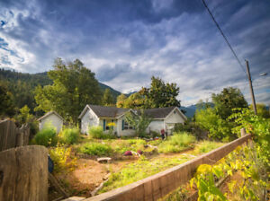 Charming house with lake view in Slocan