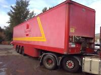 CARTWRIGHT TRAILER TRI AXLE BOX TRAILER