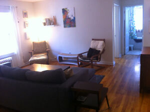 1 Bdrm Sublet, Perfect for Professionals/Students - Avail Sept 1
