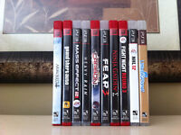 Selling 11 PS3 Games ($50 for all)