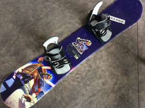 140 cm Sims odyssey board with bindings