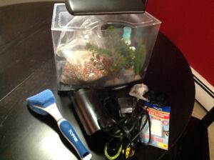 NEW PRICE - Starter aquarium set