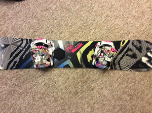 Snowboard and bindings=great Christmas gift!!