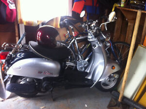 Scooter for Sale w/Helmet