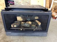 Natural gas fireplace for sale
