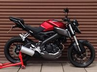 Yamaha MT 125 ABS Only 2808miles. Delivery Available *Credit & Debit Cards Accepted*