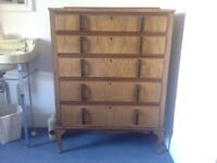 1930's vintage Chest of Drawers